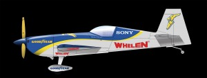 Rendering of the side view of Goulian's 2012 aircraft.
