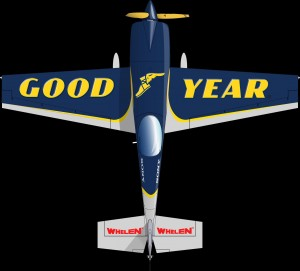 Rendering of the top of Goulian's 2012 aircraft.