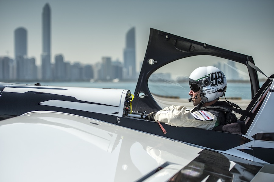 Mike Goulian in Cockpit Image (horizontal)