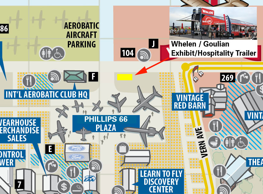 2014 Oshkosh Map