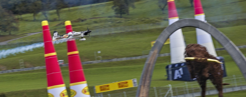 Goulian flying in the Red Bull Ring in Austria during training Oct 24th. Photo credit: Sebastian Marko