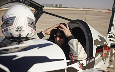 Goulian's Abu Dhabi Red Bull Air Race Thoughts, Interview and Footage