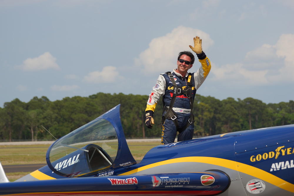 Mike Goulian as Feature Speaker at FAA's New England Aviation Safety Expo