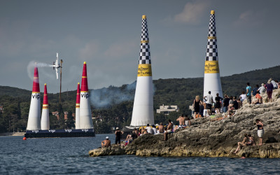 Goulian Climbs to 4th Place Finish in Red Bull Air Race Croatia