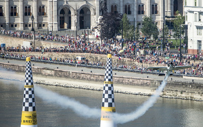 Goulian Holds Overall Position after Budapest Red Bull Air Race