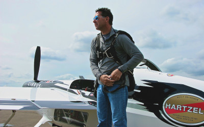 Team Goulian prepares for Ascot's round of 2015 Red Bull Air Race World Championship