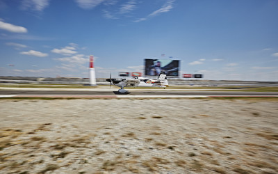 Michael Goulian determined to go big at the Texas Red Bull Air Race