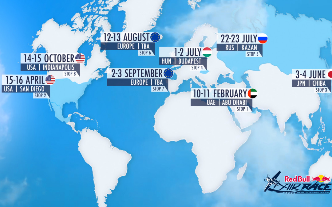 2017 Red Bull Air Race World Championship calendar released!